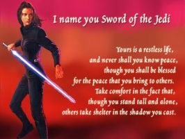 Sword of the Jedi by call-me-lydia
