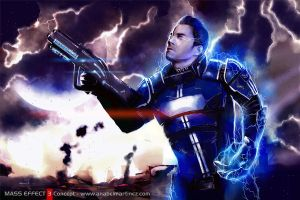 Kaidan Alenko - Mass Effect 3 by aelice
