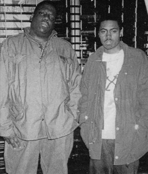 Biggie and Nas by TheIronLion