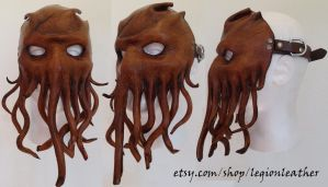 Cthulhu Cultist Mask by noigel