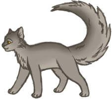 Graystripe by Paleclaw