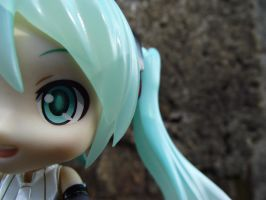 Miku Append Close-up by nyanperona-chu