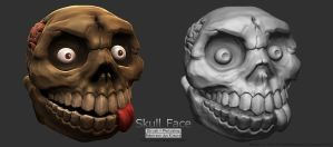 Skull Face by robersonjk