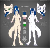 Ramona and J-C Reference Sheet 2012 by Tai-L-RodRigueZ
