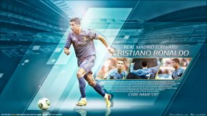 Cristiano Ronaldo - CR7 - Real Madrid by namo, by 445578gfx