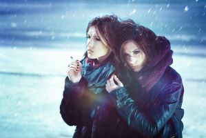Twins and winter by psychiatrique