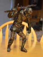 Dark Souls 2 Royal Swordsman statue by futantshadow