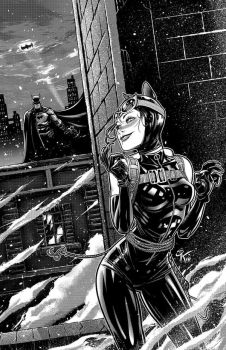 Catwoman by SergChayote