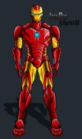 Iron Man IH Design by IHComicsHQ