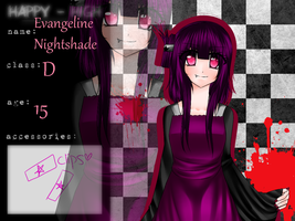 HH:APP: Evangeline Nightshade by iLostInDreams