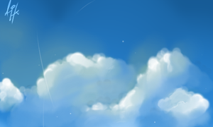 Practice : Cloud Experimenting by AngelicHellraiser