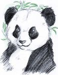 Panda - Brio pen by KeyshaKitty