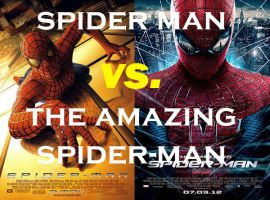 Old vs. New Spider-Man vs The Amazing Spider-Man by RedJoey1992