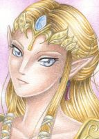 ACEO Princess Zelda by Rooro22