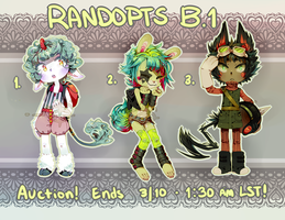 ::Adoptables::  Randopts B1 CLOSED by Jotaku