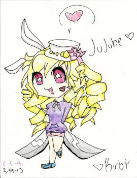 Jujube Colored by Kirby485