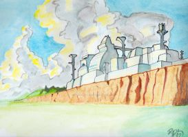 Citadel of Gonbulurath by innerpeace1979
