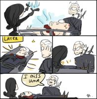 The Witcher 3, doodles 35 by Ayej