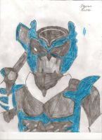 Psycho Ranger's: Blue by DarkAlicornWarrior