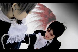 BlackButler-Monochrome no Kiss by Taymeho