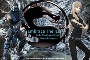 Embrace The Ice - Mortal Kombat Story Banner by Halowing