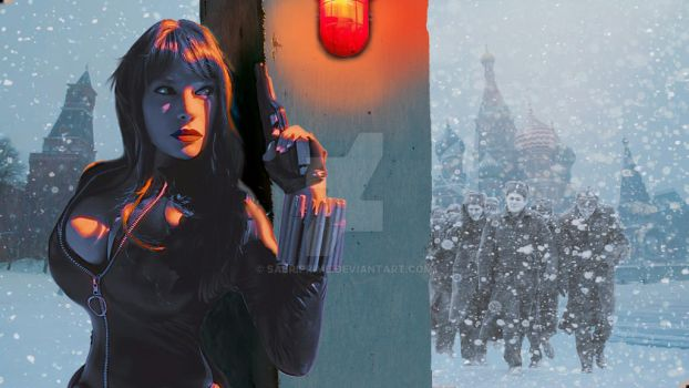 Black Widow From Moscow with love by SabriPrime