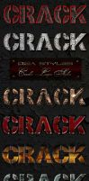 Cracks layer styles by DiZa-74