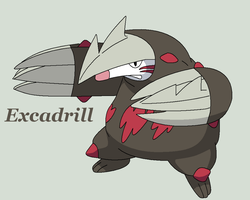 Excadrill by Roky320
