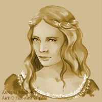 Portrait Commission: Anne by fee-absinthe