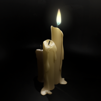Candle by nino4art