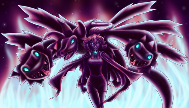 The Dragon Pokemon Queen by Sarky-Sparky