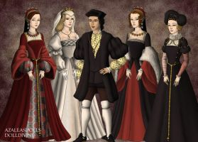 The Children of Francis I of France by MoonMaiden37