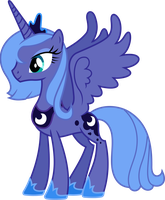 Princess Luna (Season 1) by 90Sigma