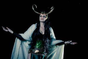 Lady Loki: Kneel before Me! by paszulyEstonia