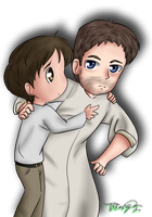House - Hilson chibis by iTiffanyBlue
