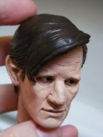 Matt Smith Sculpt 3 by frasierdalek