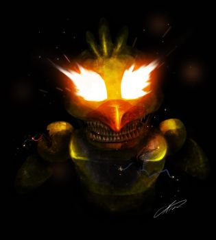 Jack-O-Chica  Five nights at Freddy's 4 by CKibe