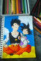 Dragon Ball Z - Gohan and Goten by JCRR3001