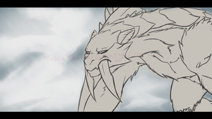 [MH] Displeased Barioth by TabithaKattoa