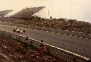 Curva 2, Estoril - 1984 by F1PAM