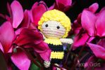 Maya the Bee Amigurumi crochet doll by BramaCrochet