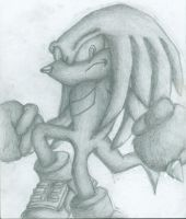 Knuckles the Echidna by Crimson-Angel-66