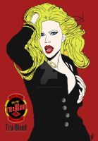 Pam True blood add poster by OUATArtisty