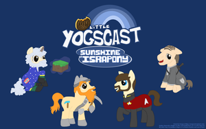 My Little Yogscast Wallpaper 16:10 by Nazgar
