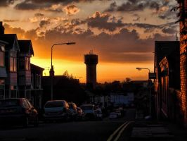 Cleethorpes Sunset by Ci-Annwn