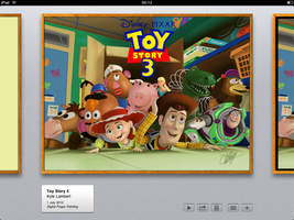 Toy Story iPad FingerPainting1 by kyle-lambert