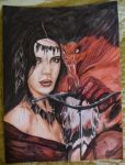 Tribute to Luis Royo by Inlacrimas