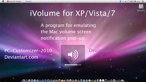 iVolume Mac Volume Emulator by PC-Customizer-2010