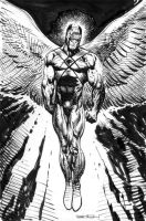 Hawkman sketch by LiamSharp