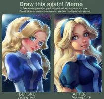 Draw this again - Maria Robotnik by Ranisa